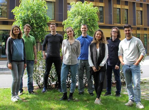 2019: (left to right) Henrike, Nikolai, David, Ekaterina, Michael, Juliana, Bogdan, Moritz