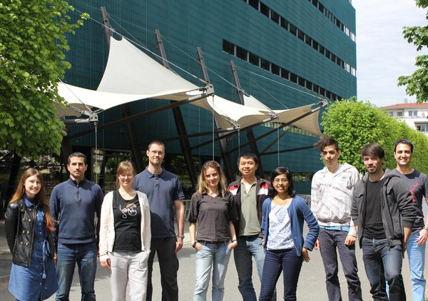 (left to right): Aksana, Genis, Katrin, Michael, Juliana, Jun Hoe, Pradnya, Hernando, Bjoern, Virag